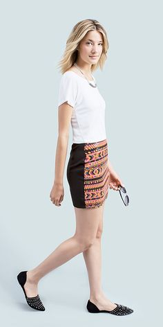 Need to find a tribal skirt that isn't a pencil silhouette.