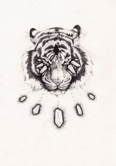 Crystal Tigre - Peter Carrington. Neeeeed this as a tattoo.