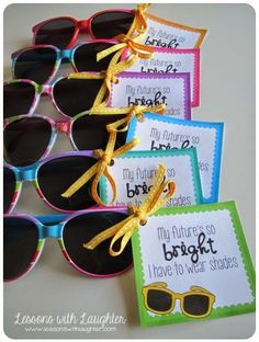 Lessons with Laughter: End of the Year Gifts! (Free printable tags!)
