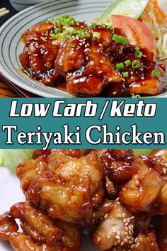 Low Carb Chicken Recipes, Healthy Low Carb Recipes, Low Carb Dinner Recipes, Diet Recipes, Keto Dinner, Easy Low Carb Meals, Smoothie Recipes, Low Cal Dinner, Health Desserts