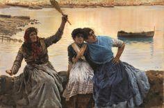 "1846 - Saint Germain En Laye ""Au revoir!"" Giuseppe de Nittis"