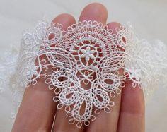 Venedig Soft häkeln Rayon Lace Trim Bridal Organza von MakingPlus