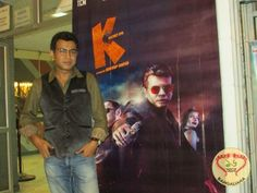 Bengali film K: Secret Eye's premier took place at Nandan 3. Present at the occasion was director Abhirup Ghosh, Rudranil Ghosh, Rajatava Dutta and others.