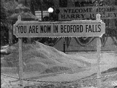 The remains of Bedford falls on the Rko ranch were razed in the mid-1950s, there are only two surviving locations -----the swimming pool in Beverly Hills High School, and the Martini house.