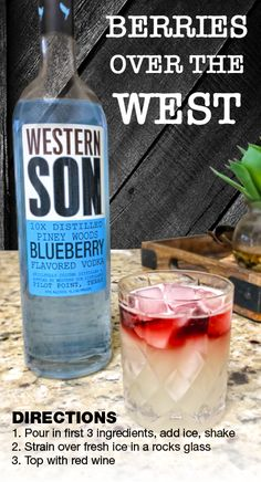 c8aafae3641 How to make a Blueberry Western Son Vodka