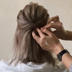 #easyhairstyles Bob Haircuts and Hairstyles for Women. thick hairstyles; medium haircuts; french haircuts; medium bob hair styles; medium haircuts for women; cute hairstyles; formal hairstyles #shorthair