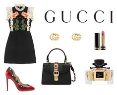 """""""Untitled #38"""" by susanamarques16 ❤ liked on Polyvore featuring Gucci"""