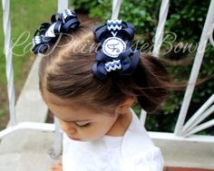 Personalised bows school badge logo hairband primary 1 first day if school