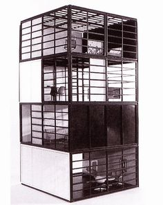 Prototype toy Revell House by Charles and Ray Eames