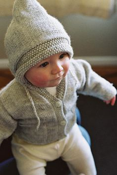 Sweater for baby.  #knit #knitted #yarn #handmade #craft #ravelry