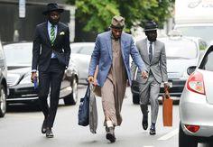 Shaka Maidoh, Mos Def, Sam Lambert #dandy #hipster