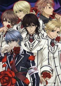Vampire Knights Boys