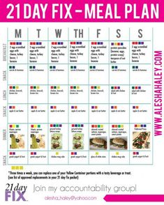 21 day fix meal plan // 21 day fix menu, Meal Prep Plan, 21 Day Fix Meal Plan, Diet Meal Plans, Meal Plans To Lose Weight, 21 Day Fix Extreme, Planning Budget, Meal Planning, The Plan, How To Plan