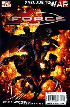 NOW READING: Uncanny X-Force #12 April 2009: Prelude to War Suicide Leper Part 1 written by Craig Kyle & Christopher Yost and art by Clayton Crain  Crain's artwork has a great cinematic, painterly look and the storyline is exciting, well-paced and structured well, a great read.