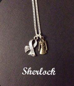 Sherlock Necklace - Benedict Cumberbatch - Martin Freeman