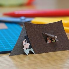 #papercraft #paperart #small #tent #camp #nightsky