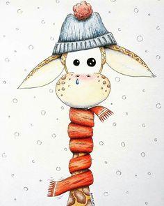 Just convert this winter art, with a bit of summer dress