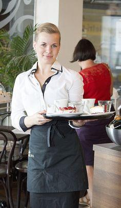 Waitress, Cafe Lauri | by visitsouthcoastfinland #visitsouthcoastfinland #Lohja # Finland #cafe #kahvila #waitress