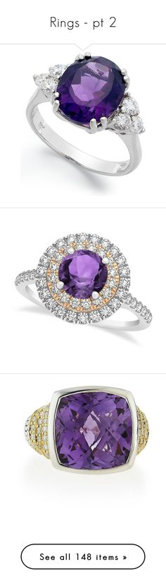 """""""Rings - pt 2"""" by zaida-gabriela-victoria-sofia on Polyvore featuring jewelry, rings, accessories, no color, 14k diamond ring, oval cut diamond ring, 14 karat white gold ring, oval ring, diamond jewelry and white gold"""