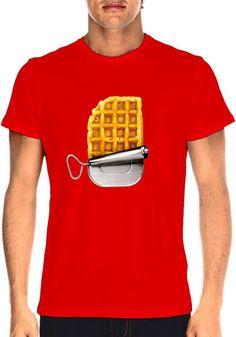 """T-shirt """"Ration de survie"""", par Lucas Racasse - taille L – Home Frit' Home. Cool!"""