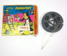 Terrytoons Super 8mm Cartoon Little Roquefort and Percy Projector Film Reel Vintage