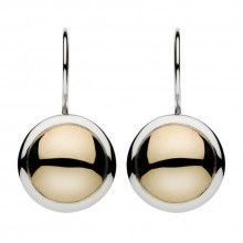 When it comes to minimalistic chic, these gorgeous earrings embody the latest trend in bold and elegant contemporary jewellery design. Expertly crafted in sterling silver and featuring an inlaid polished copper disc, they'll add a touch of serious glamour Copper Jewelry, Sterling Silver Jewelry, Women's Earrings, Silver Earrings, Contemporary Jewellery, Jewelry Branding, Women's Accessories, Jewelery, Jewelry Design