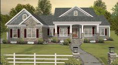 Generated image released by hanley wood home plans shows house of the