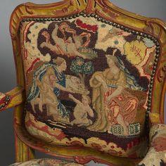 gobelin mintás rokokó székek Németországból Goblin, Antiquities, German