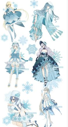 Snow Queen Washi Tape with Matte PET and Release Paper- Japanese Washi Tape -Deco Drawing Anime Clothes, Dress Drawing, Manga Clothes, Clothing Sketches, Dress Sketches, Art Clothing, Fashion Design Drawings, Fashion Sketches, Anime Outfits