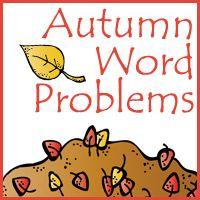 Autumn Word Problems