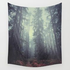 The magic trails wall tapestry by HappyMelvin