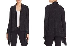 C by Bloomingdale's Basic Open Cashmere Cardigan