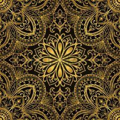 Bildergebnis für Stoff orientalisches Muster gold