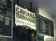 Caviar and Bananas / Charleston, SC has some of the best sandwiches and prepared foods in the downtown area. Love their duck sandwich.