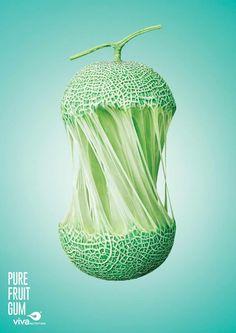 Pure Fruit Gum: Melon
