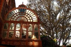 Conservatory at the glorious RipponLea Estate in Melbourne's Elsternwick, the original home of Frederick Sargood.