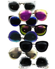 sunglasses, sunnies, cute sunglasses, gifts, gifts under 20, cat eye sunglasses, bug sunglasses, blue sunglasses, pink sunglasses