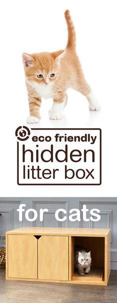 Our New Cat Litter Looks Good Doing Its Business Hidden Litter Boxes, Cat Care Tips, Pet Tips, Litter Box Enclosure, Cat Scratching Post, Cat Scratcher, Cat Furniture, Fur Babies, Cat Products
