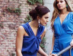 PEINADOS IDEALES PARA TUS LOOKS DE BODA! Wrap Dress, Ideas, Dresses, Fashion, Fiestas, Hairdos, Wedding, Elegant, Vestidos