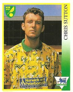 Twitter / OldSchoolPanini: What a horrible kit !! Chris ... Chris Sutton, Old School, Button Down Shirt, Men Casual, Football, Kit, Twitter, Mens Tops, Shirts