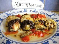 poivre, mozzarella, jambon, aubergine, sel, basilic