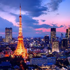This is where I came from. Tokyo! There is a lot of shops and you can buy or eat whatever you want!