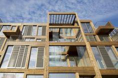ANA architecten heeft in opdracht van Huiz& een serie van 4 woonwerklofts in de Buiksloterham in Amsterdam Noord ontworpen. Dit gebied wordt de komende jaren van industriegebied naar woonwerkge…
