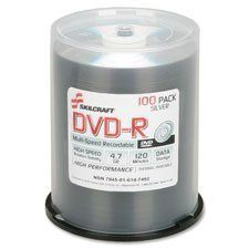 Introducing Skillcraft DVDR 47GB 50PK Silver Sold as 1 Package. Great product and follow us for more updates!