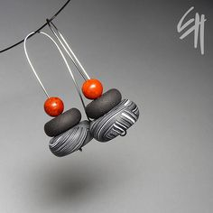 Red Tone Earrings | Flickr : partage de photos !