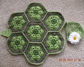 African Flower Turtle hat/cape