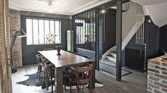 Verrière atelier : une solution pour aménager l'espace - Côté Maison
