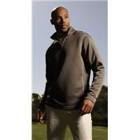 Nike Sphere Dry Cover-Up    Nike has engineered a cover-up that effectively wicks sweat while keeping you warm. With a 1/4 zip that lets you breathe and move, this cover-up has distinctive contrast stitching and an open hem. Constructed with Nike Sphere Dry technology to wick moisture to keep you comfortable. The design includes a self-fabric collar and open cuffs. The contrast Swoosh design trademark is embroidered on the lower left sleeve. In 100% polyester.