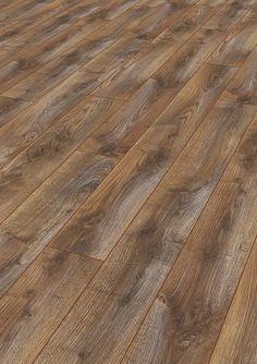 Rustic Oak Laminate - hard to tell it isn't real wood! doorandfloorstore.co.uk/rustic-oak-10mm-x-159mm-laminate-flooring.html