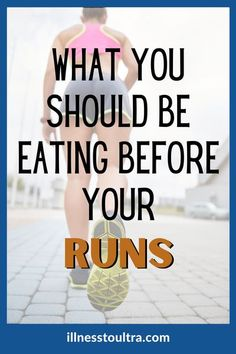 Do you know why it's so important to have nutrition, low fiber and low sugar foods before a long-distance run? Get the best guide to running nutrition and why it will help your running performance and help you reach that PR. If you are wondering what you should eat before your trail run or road run, read this post to get the best foods and meals to eat before running. #marathonnutrition #runningfood #runnersdiet #planmeals #carbs #fiber Running Routine, Running Workouts, Running Tips, Road Running, Running Training, Learn To Run, How To Start Running, How To Run Faster, Nutrition For Runners